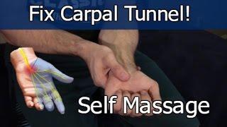 Video Carpal Tunnel Self Massage Fix MP3, 3GP, MP4, WEBM, AVI, FLV Desember 2018