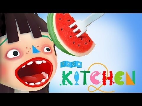 Fun Kitchen Cooking Games  - Kids Learn Cooking For Children Toca Kitchen 2 For Toddlers
