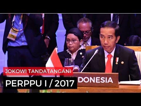 Jokowi Tandatangani PERPPU I/2017, Masih berani mainkan pajak?