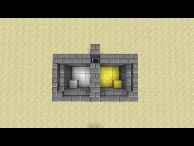 minecraft tutorial geheime minecart t r. Black Bedroom Furniture Sets. Home Design Ideas