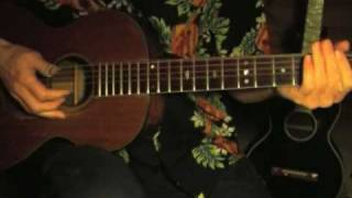 Blues in the key of E Lesson - Fingerpicking - Part 1 - Hey, Hey Hey Babe - Big Bill Broonzy Style