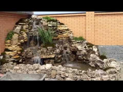 Как построить водопад фото