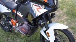8. 977189  2011 KTM 990 Adventure bike, fully equipped, ready for adventure, Leo Vince exhaust