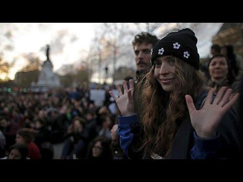 Γαλλία: Επεισόδια επισκίασαν τη συγκέντρωση «Όρθιοι τη Νύχτα»