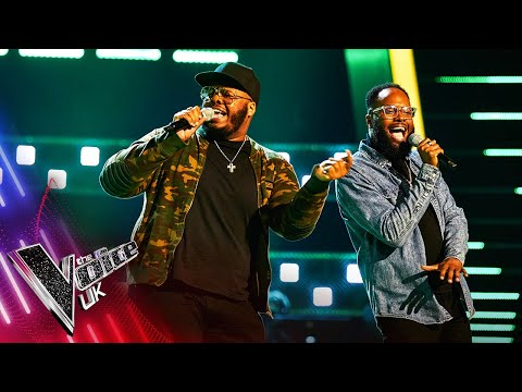 Jordan and Wesley's 'Go Get It' | Blind Auditions | The Voice UK 2021