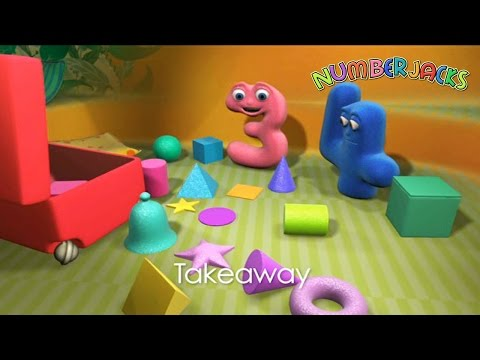 Numberjacks | Takeaway | S1E14