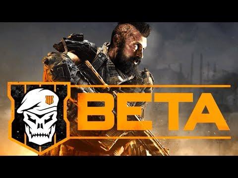 Black Ops 4: ALL BETA DATES & Blackout BETA!