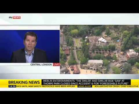 Full Interview With Alton Towers Boss After Rollercoaster Crash