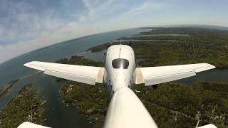 Cirrus SR-20 Falmouth Landing And Takeoff