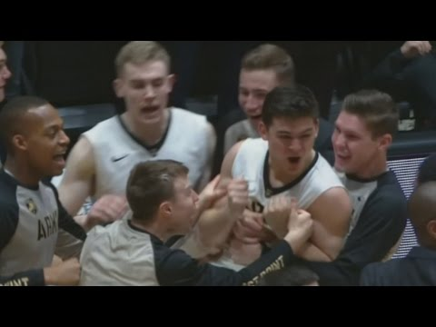Army West Point Completes Comeback To Send Game To OT | CampusInsiders (видео)
