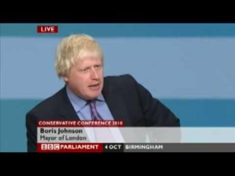 Boris Johnson funny speech - Boris admits Scousers are criminals
