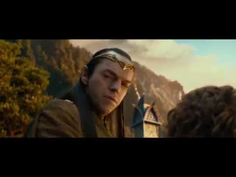 Bilbo - COPYRIGHT NEW LINE CINEMA and WINGNUT PRODUCTIONS A scene from the upcoming The Hobbit Extended Edition, depicting Bilbo meeting Elrond.
