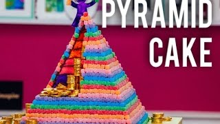 Video How to Make a PYRAMID CAKE with a Surprise Inside! 6 Different Cake Colors & Chocolate Ganache! MP3, 3GP, MP4, WEBM, AVI, FLV Maret 2019