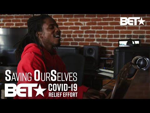 D-Smoke, Sir, Davion Farris & Tiffany Gouche Perform 'Hair Down' & More | BET COVID-19 Relief Effort