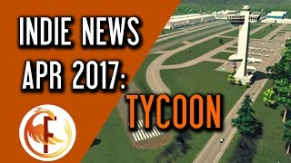 Welcome to Indie Game News April 2017. In Indie Game News we talk about top upcoming indie games, new indie game releases and everything else indie game related that is note worthy. This series will focus on different genres and hopefully will cover topics like tycoon, base building survival and many others. Watch Indie Game News the in the ► Playlist: http://bit.ly/Indie_Game_NewsHere are some timestamps for covered games:Another Brick to the Mall 0:32911 Operator DLC First Response 1:04SimAirport 1:30Movie Studio Tycoon  2:16Airport CEO 3:04MegaQuarium 3:44Railway Empire 4:19List of games covered in today's episode of Indie Game News:Another Brick to the Mall http://store.steampowered.com/app/521150/ 911 Operator DLC First Response http://store.steampowered.com/app/503560SimAirport http://store.steampowered.com/app/598330 Movie Studio Tycoon http://steamcommunity.com/sharedfiles/filedetails/?id=282505329Airport CEO http://airportceo.com/MegaQuarium http://www.twicecircled.com/2c/megaquarium/Railway Empire http://store.steampowered.com/app/503940 If you liked Indie Game News you may also enjoy some of those videos:► First Impressions and Reviews http://bit.ly/Feniks_First_Look► Early Access Monitor http://bit.ly/Early_Access_MonitorCHANNEL INFORMATION:Welcome to Feniks Gaming and News. This channel focuses on everything Indie game related. My goal is to promote and support Indie Game culture and share any information, news, reviews and insider knowledge with my viewers. I spend hours every day reading and learning about latest news so you don't have to. I stand for professionalism, consumer rights and good working ethics. Occasionally you will here find videos in which I express my views and opinions on latest development in Indie Game industry and YouTube itself. SOCIAL MEDIA:Follow me on Twitter and subscribe to my channels to stay in touch and keep up with daily videos I produce for your entertainment. For more Gaming and NewsSubscribe http://bit.ly/Subscribe_to