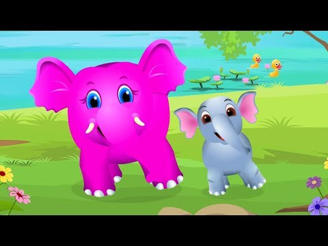 Baby Elephant Song | Nursery Rhymes And Songs For Children