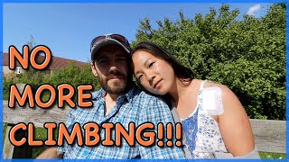 NO MORE CLIMBING!!! by The Climbing Nomads