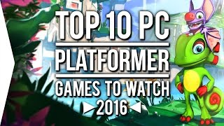 Platformers come in many shapes and sizes from 2D sidescrollers to 3D adventures to first person freerunners and we're seeing some new ideas along with nosta...