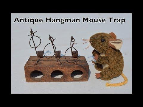 Antique Hangman Mouse Trap -
