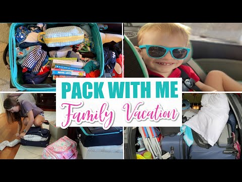 Pack With Me || Family Of 3 Vacation To Myrtle Beach SC Pt.2