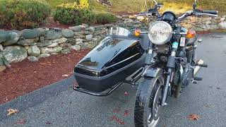 6. 2009 Triumph Bonneville SE Velorex Sidecar, Walkaround, AlphaCars & Ural of New England