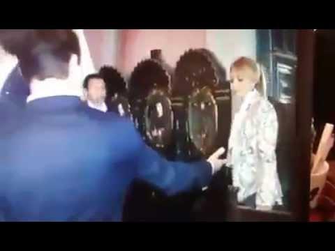 La primera dama se enoja frente a Enrique Peña Nieto