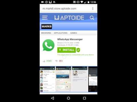 Como baixar whatsapp para tablet
