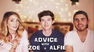 ADVICE WITH ZOE AND ALFIE || MARK FERRIS
