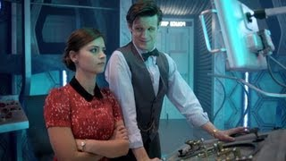 http://www.bbc.co.uk/doctorwho Behind the scenes with Matt Smith and Jenna-Louise Coleman. Narrated by Richard Bacon.
