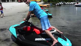 10. 2017 Sea-Doo Spark Trixx interview with Pascal Vincent