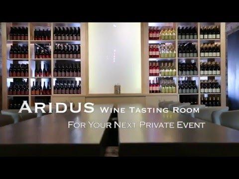 Aridus Wine Company Tasting Room Events
