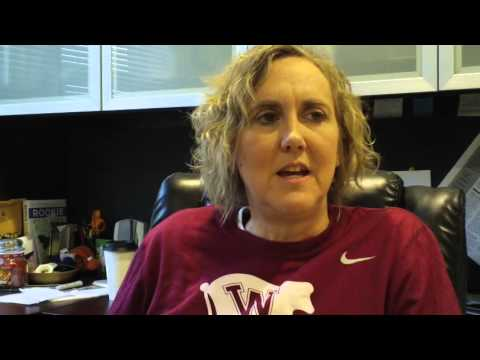 Helen Higgs Women's Basketball Jan. 11, 2016