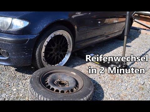 Reifenwechsel in 2 Minuten - BMW E46 19 Zoll