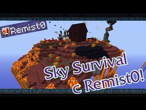 АДСКИЙ ОСТРОВ! Minecraft. Sky Survival.