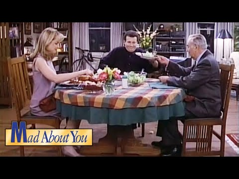 Alan Brady Comes Over For Dinner | Mad About You