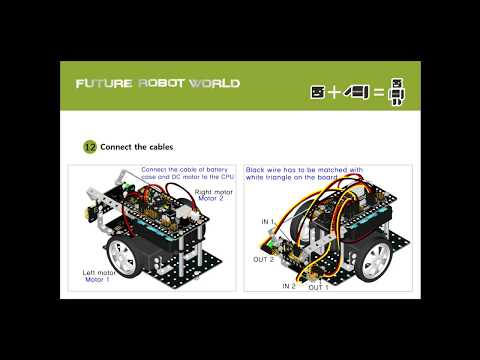 How to program the Sensing bot (avoiding robot) in ROGIC