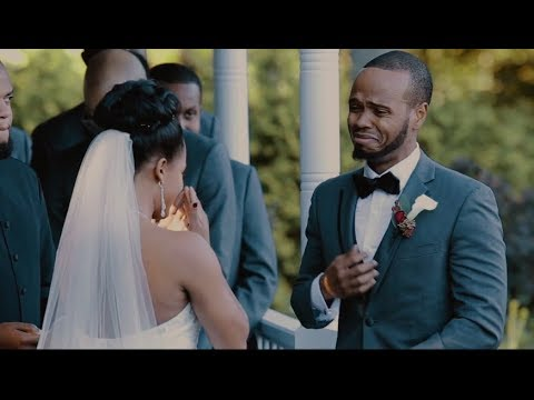 This Groom's Reaction To His Bride's Vows Will Absolutely MELT YOU | Jaynandez Films