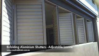Aluminium Shutters Bi-folding Lennox Head