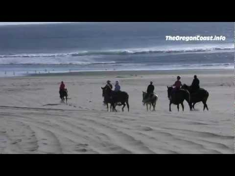 Horseback Riding in Pacific City, Oregon