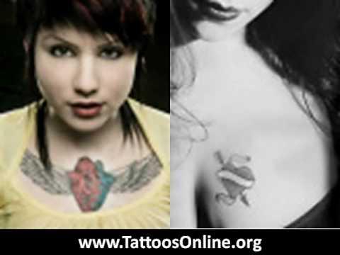 Heart tattoos – The Best heart tattoos ever…