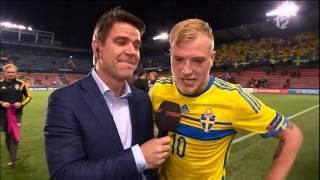 John Guidetti nach 4:1-Sieg gegen Dänemark euphorisiert (U21-EM)
