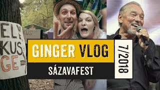 Video Liják, Gott a Sázavafest GINGER VLOG 7/2018