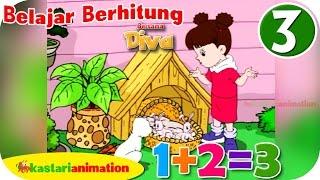 Belajar Berhitung bersama Diva HD - Part 3 | Kastari Animation Official