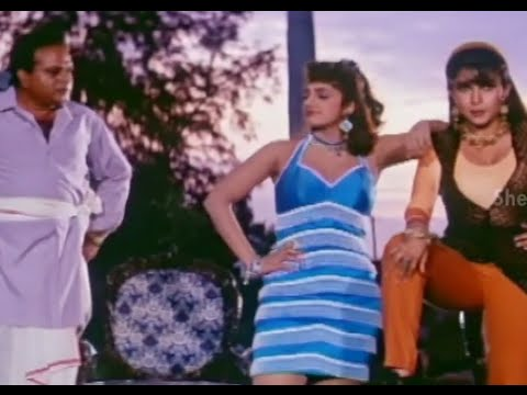 Alluda Majaka Movie Scenes - Ramya Krishna & Ramba revenge plan on Chiranjeevi - Ramya Krishna