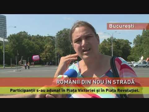 Românii, din nou în stradă, la mitingul din 10 august