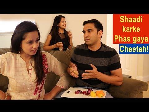 Video Shaadi karke phas gaya - Cheetah  | Lalit Shokeen Comedy | download in MP3, 3GP, MP4, WEBM, AVI, FLV January 2017