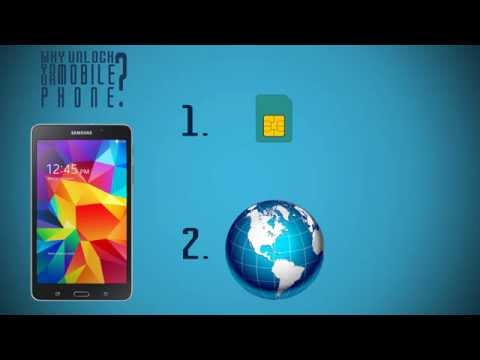 How to Unlock Samsung Galaxy Tab 4 from AT&T, O2, Rogers, EE, T-Mobile & more?