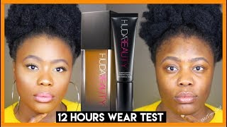 HOLY GRAIL FOR OILY SKIN? FOUNDATION TEST #24: HUDA BEAUTY FAUX FILTER FOUNDATION | MsTopacJay