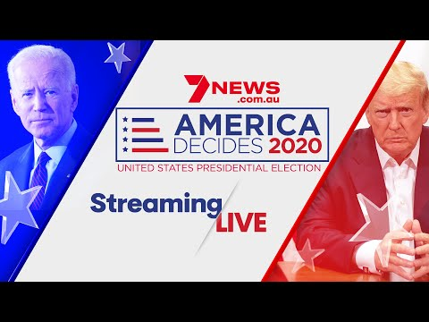 America Decides 2020: US Election LIVE results | 7NEWS