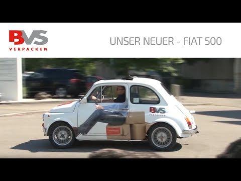 BVS Verpacken Verpackung-Systeme AG mit dem neuen Fiat 500